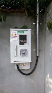 bransament electric monofazat