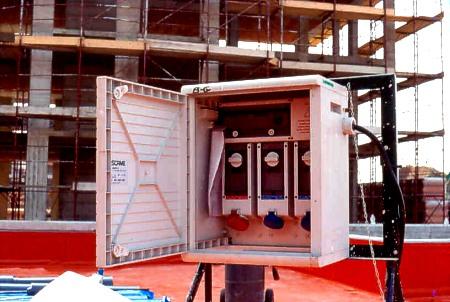 Instalatii electrice pentru santiere de constructii